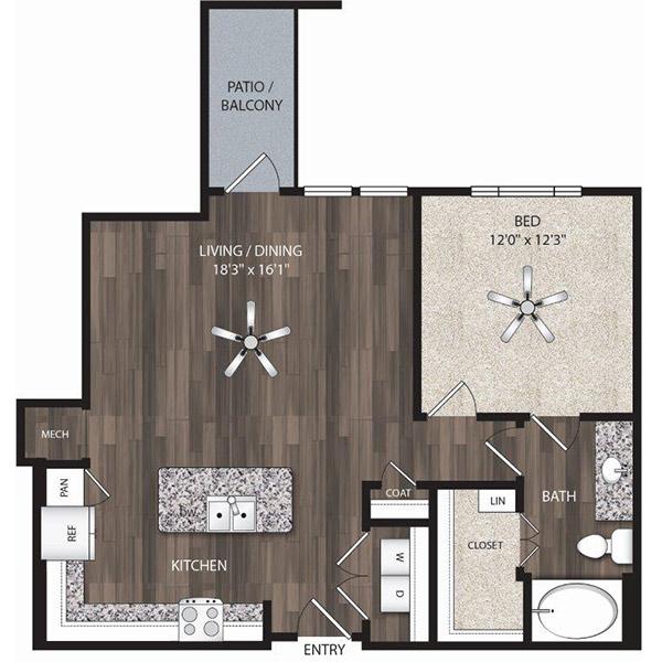 Floorplan - A9 image