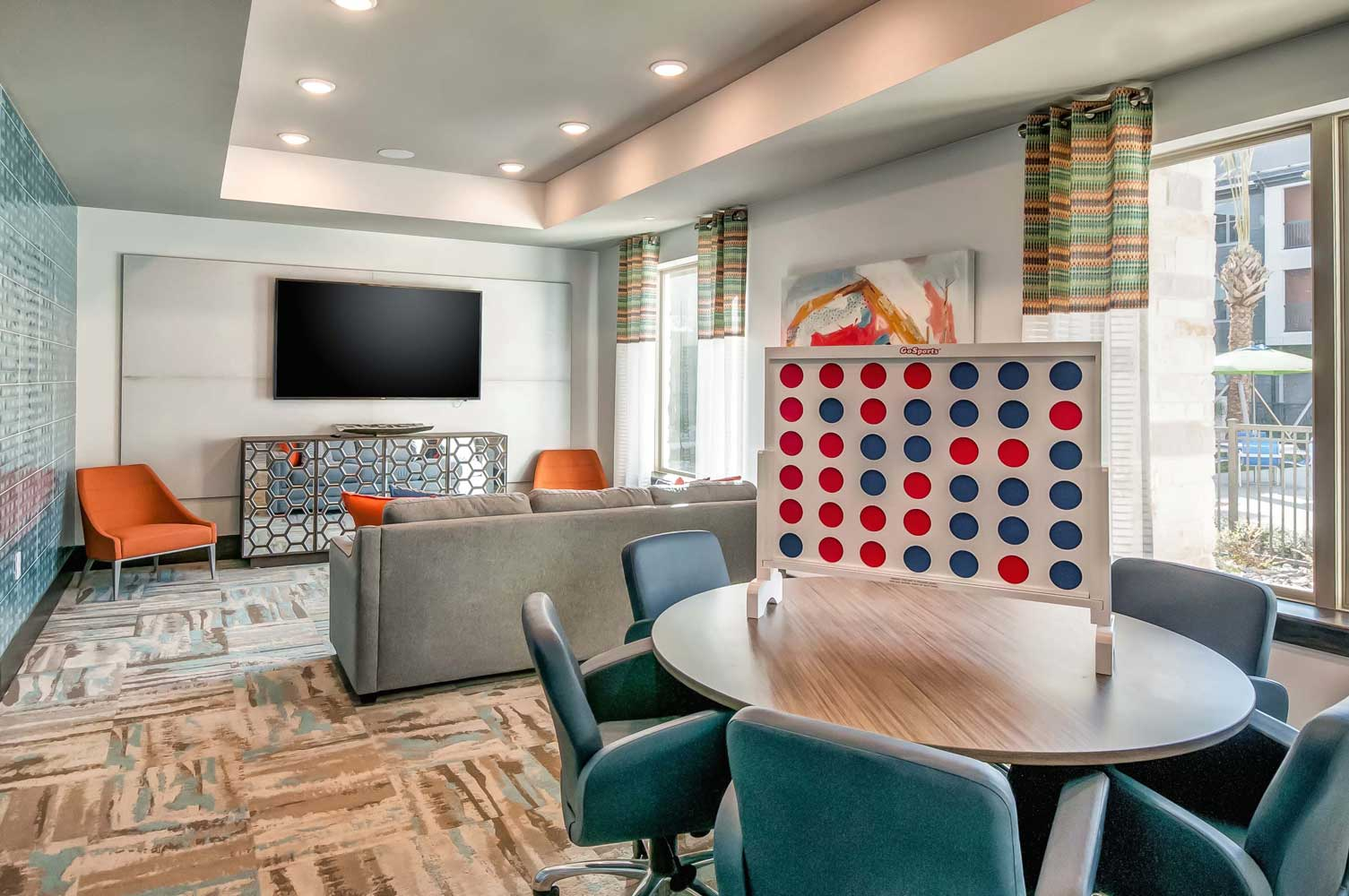 Spacious Interior at Oaks 55 Apartments in Euless, TX