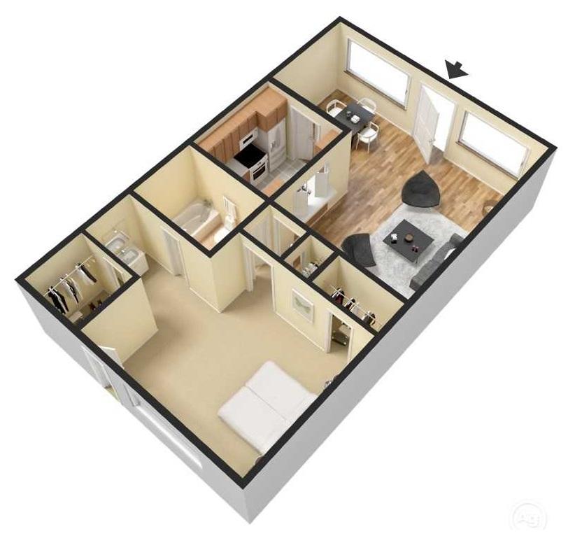 Floorplan - A1 image