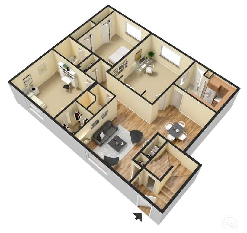 Ocean Drive Estates - Floorplan - B4
