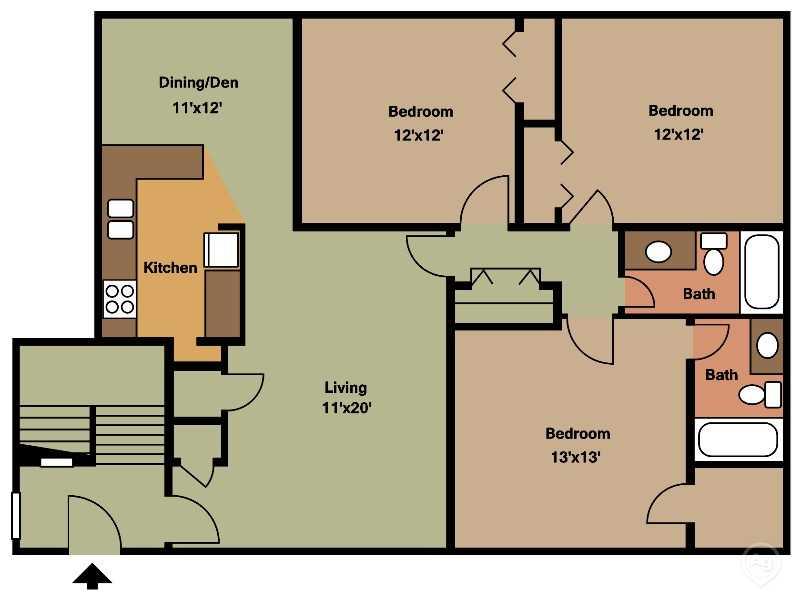 Ocean Drive Estates - Floorplan -  C1