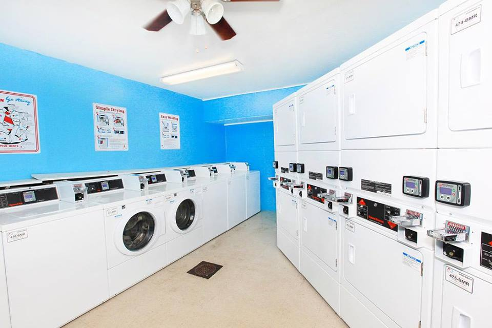 Laundry Facility at Ocean Drive Estates Apartments in Corpus Christi, TX