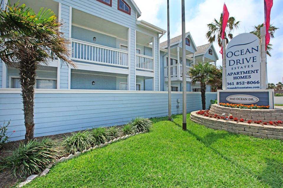 Leasing Center at Ocean Drive Estates Apartments in Corpus Christi, TX
