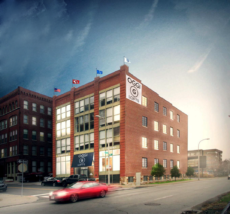Kansas City, Missouri Apartment Rentals at OGGI Lofts Apartments in Kansas City, Missouri