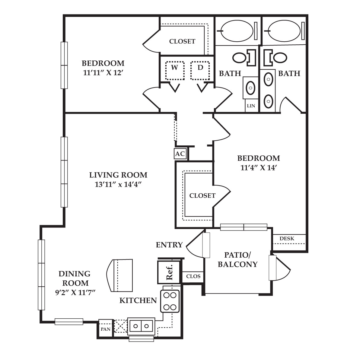 Floorplan - Diamond image