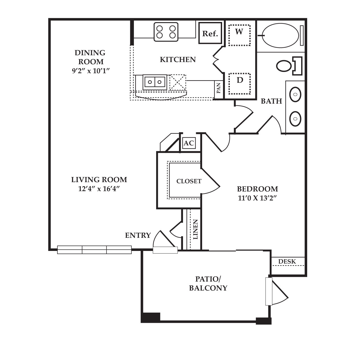 The Preserve at Old Dowlen - Floorplan - Ruby