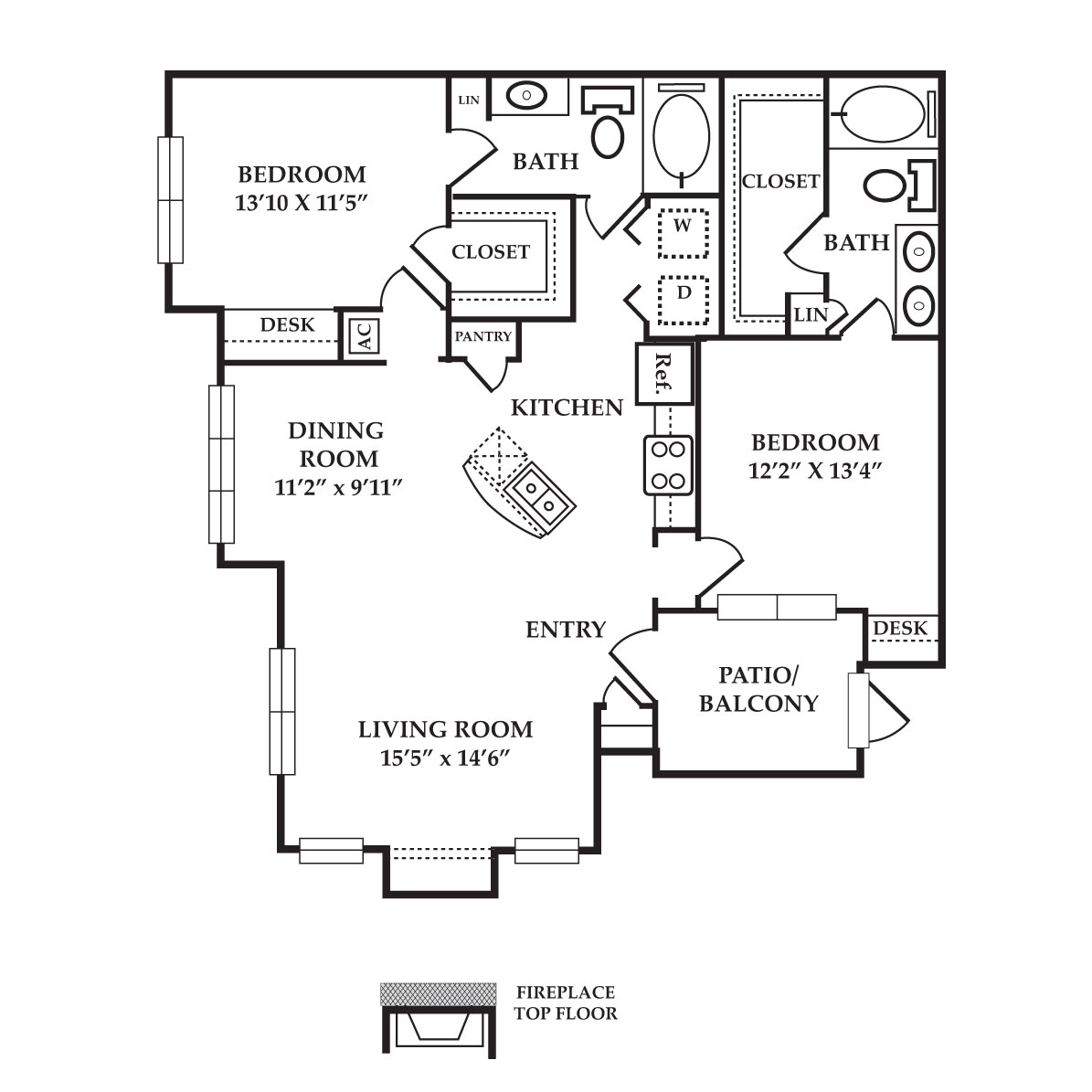 The Preserve at Old Dowlen - Floorplan - Sapphire