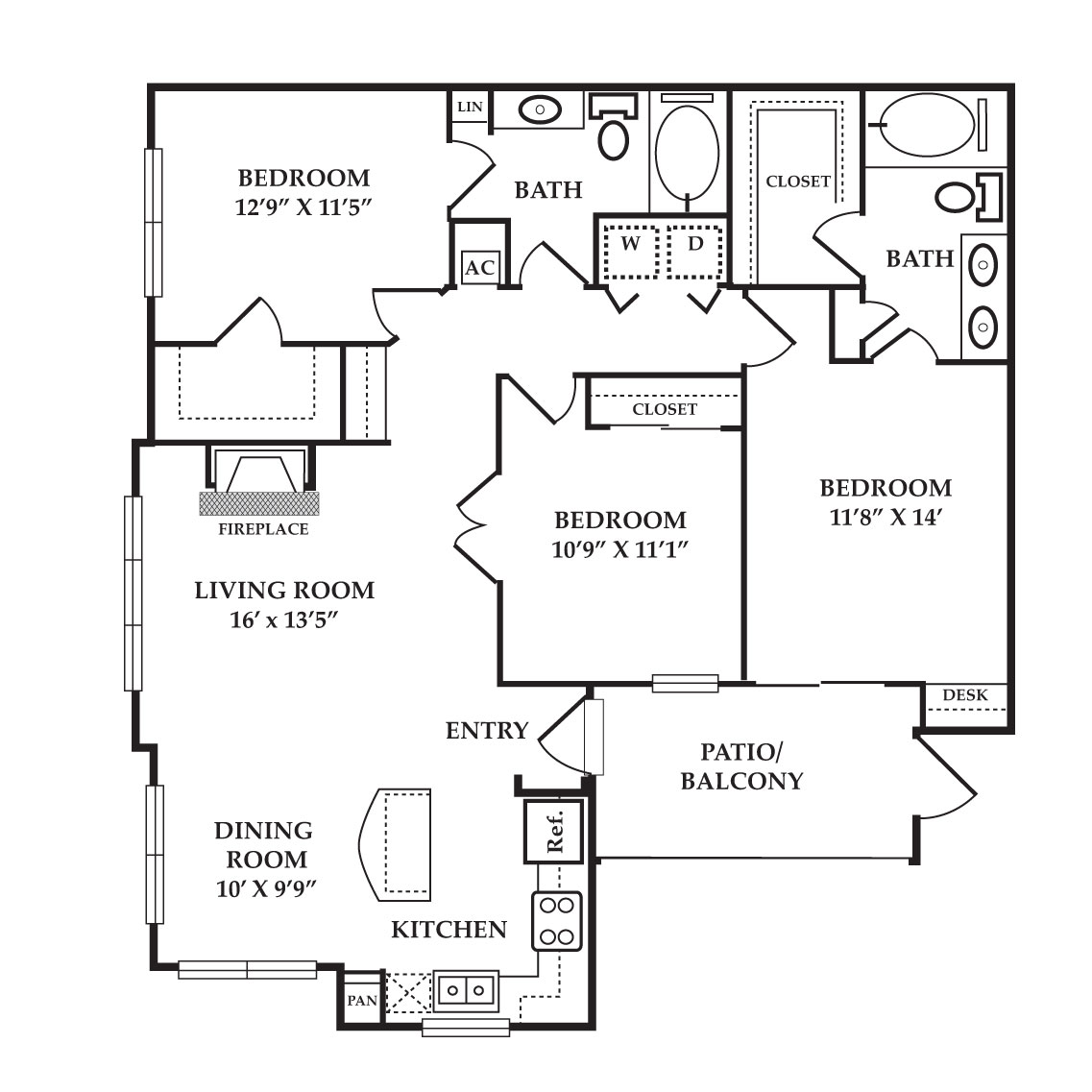 The Preserve at Old Dowlen - Floorplan - Amethyst