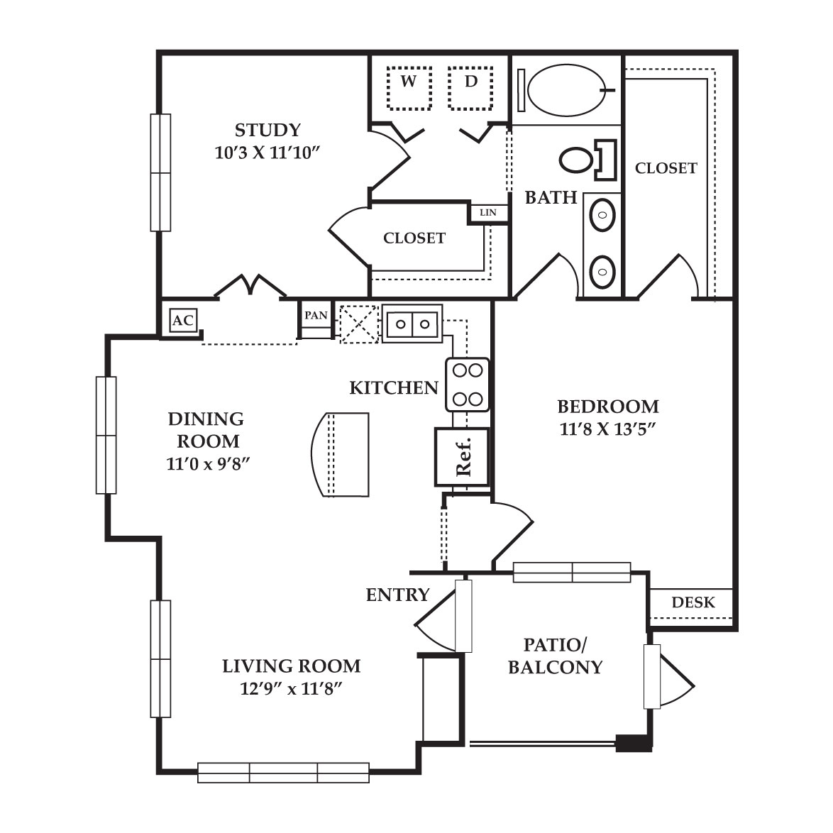 The Preserve at Old Dowlen - Floorplan - Topaz