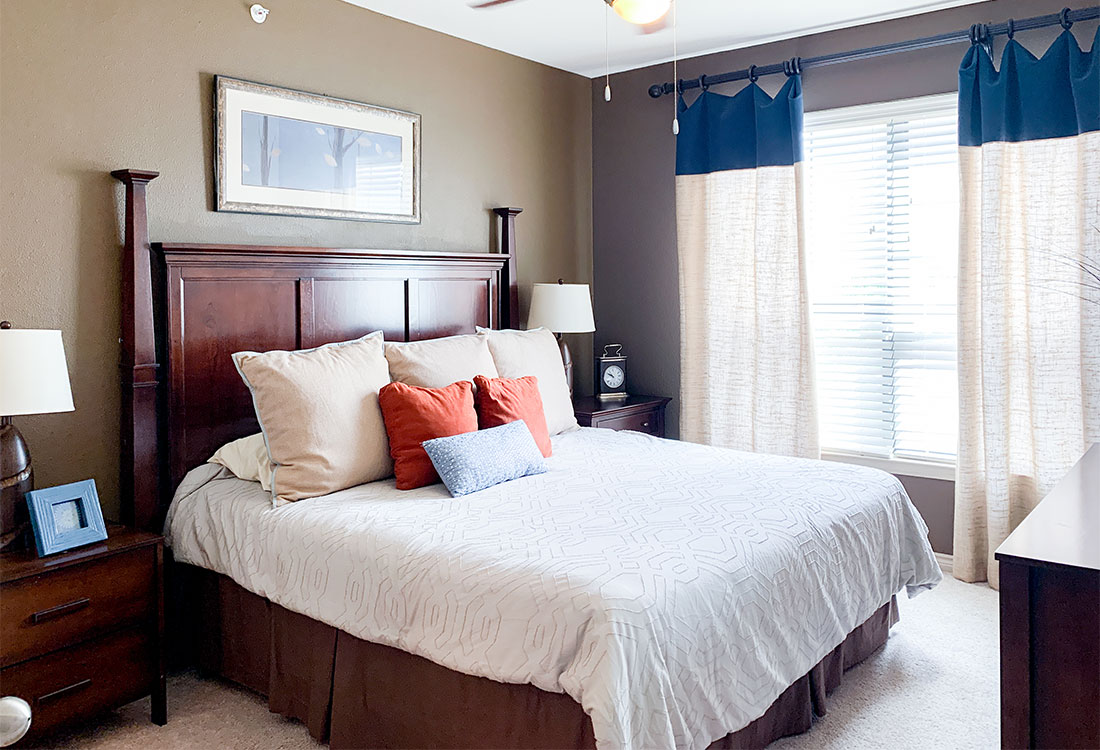 Spacious Bedrooms at Preserve at Old Dowlen Apartments in Beaumont, TX
