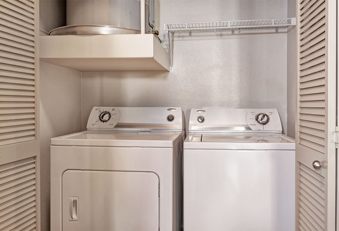 Washer and Dryer at Preserve at Old Dowlen Apartments in Beaumont, TX