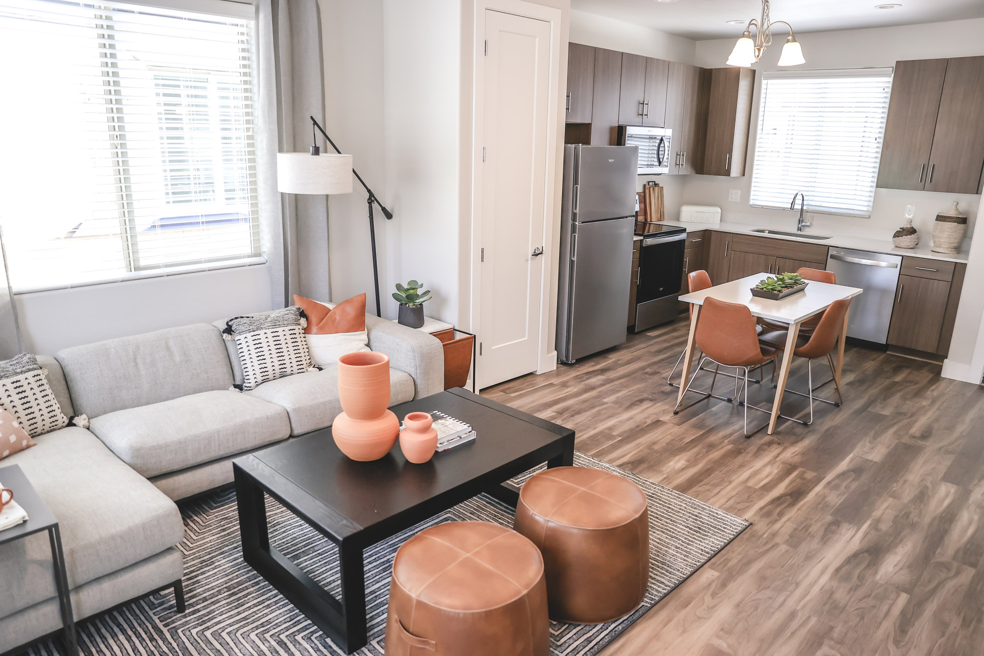 Open Floor Plans at Olive Marketplace Apartments in Glendale, AZ