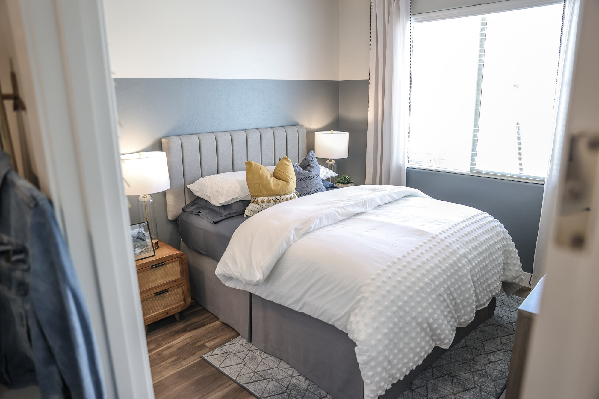 Spacious Bedroom at Olive Marketplace Apartments in Glendale, AZ