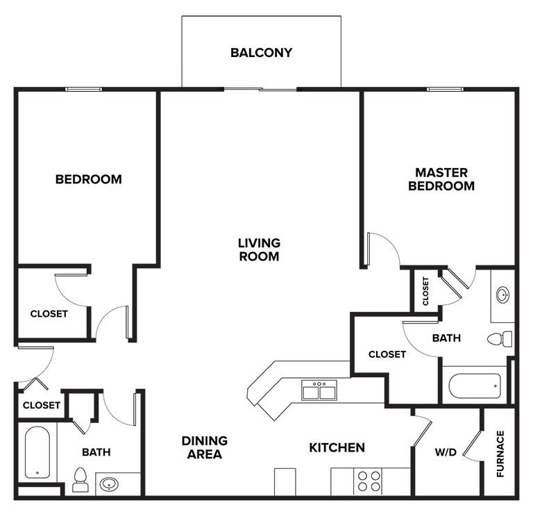 Floorplan - Brighton image