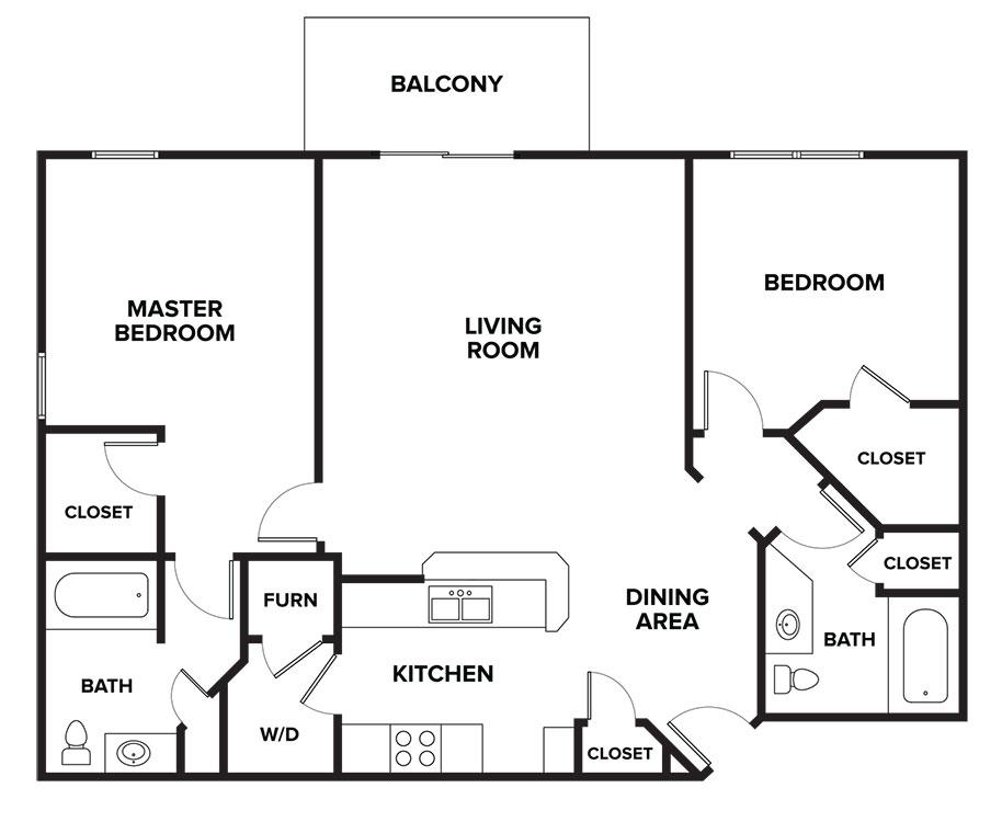 Floorplan - Fair Haven image