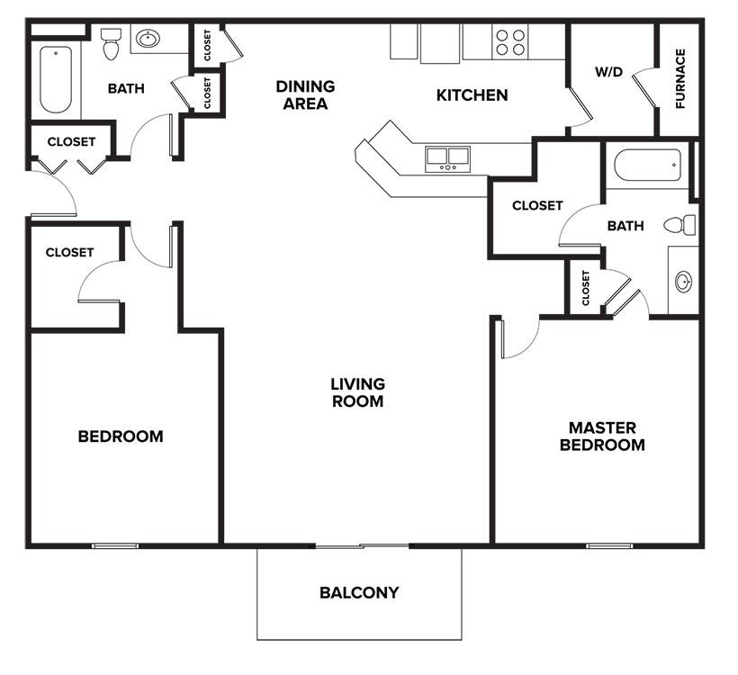 Floorplan - Medina image