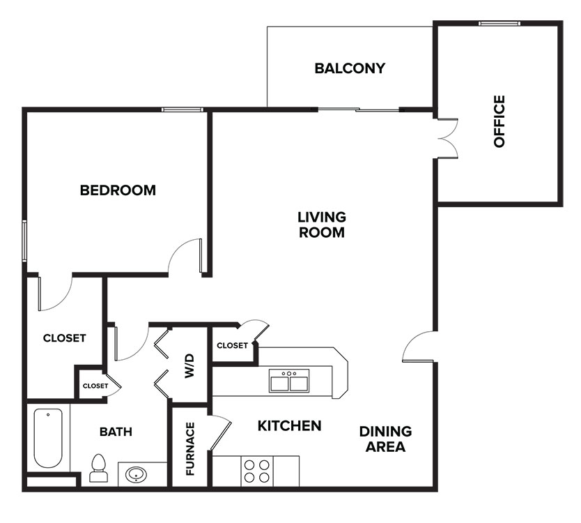Floorplan - Syracuse image