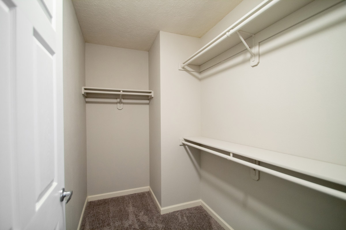 Large Walk-In Closets at Ontario Place Apartments in Omaha, NE