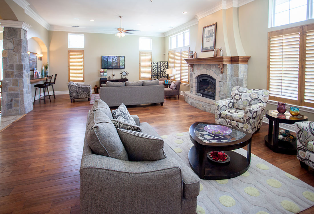 Community Spaces at Ontario Place Apartments in Omaha, NE