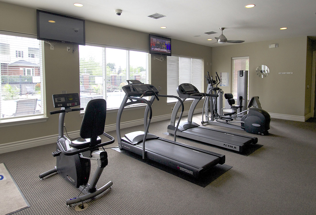 Cardio Equipment at Ontario Place Apartments in Omaha, NE