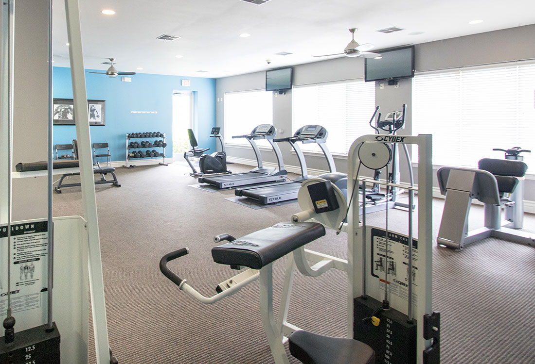 Cardio & Strength Equipment at Ontario Place Apartments in Omaha, NE