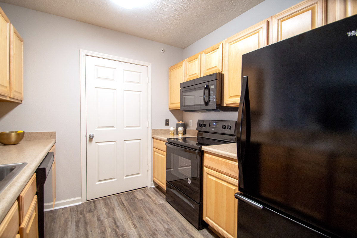Fully-Equipped Kitchen at Ontario Place Apartments in Omaha, NE