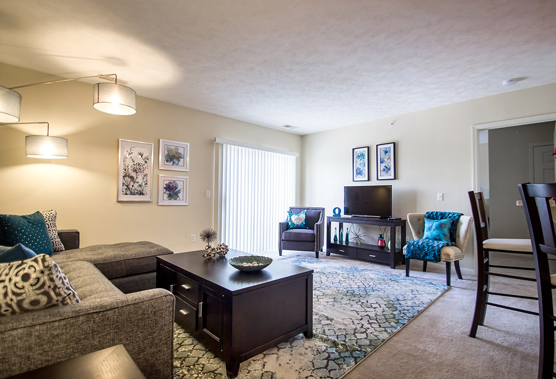 Plush Carpeting at Ontario Place Apartments in Omaha, NE