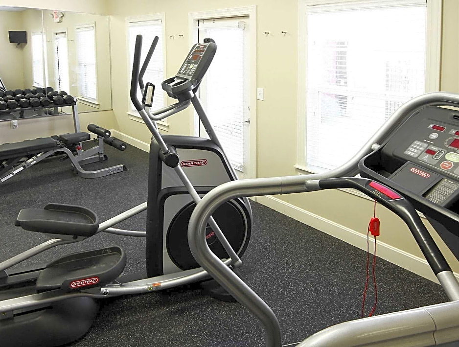 Fitness Center at Overlook Terraces Apartments in Louisville, KY