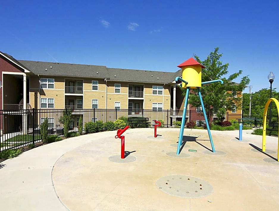 Splash Park at Overlook Terraces Apartments in Louisville, KY