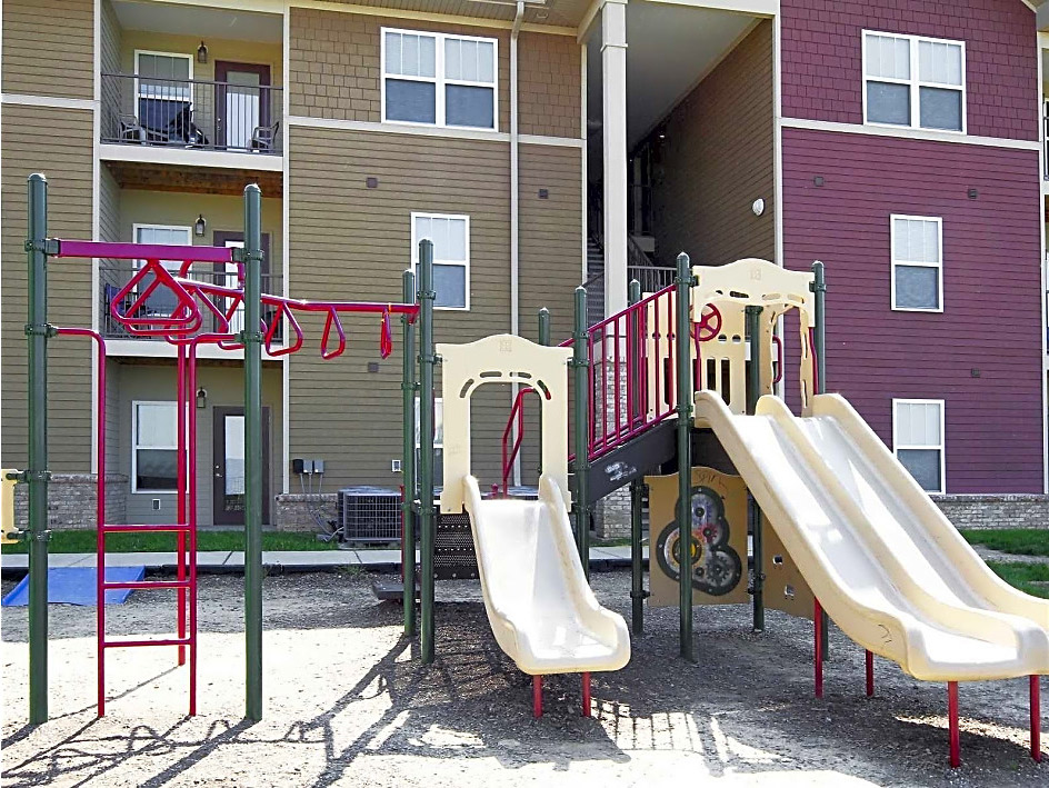 Children's Playground at Overlook Terraces Apartments in Louisville, KY