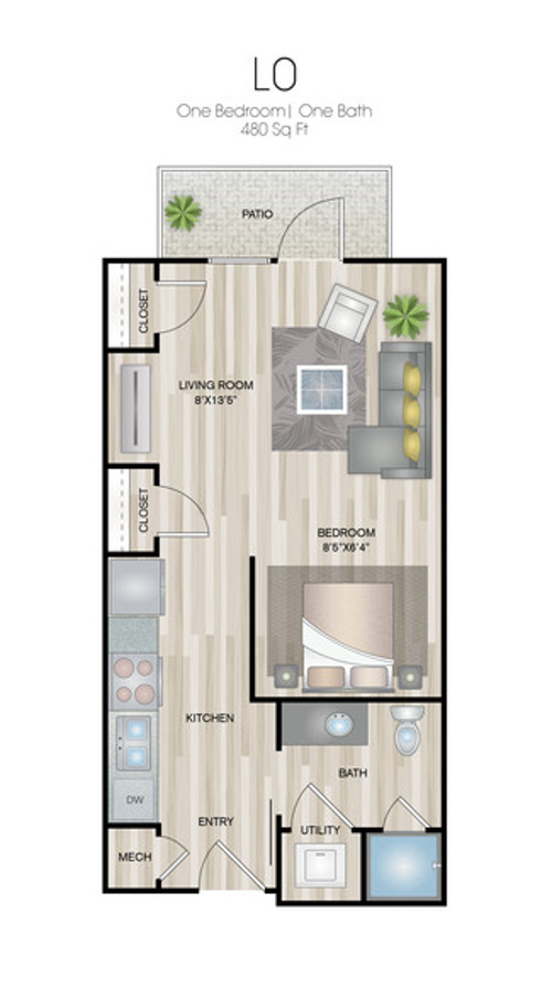 Oxford at Medical Center - Floorplan - L0