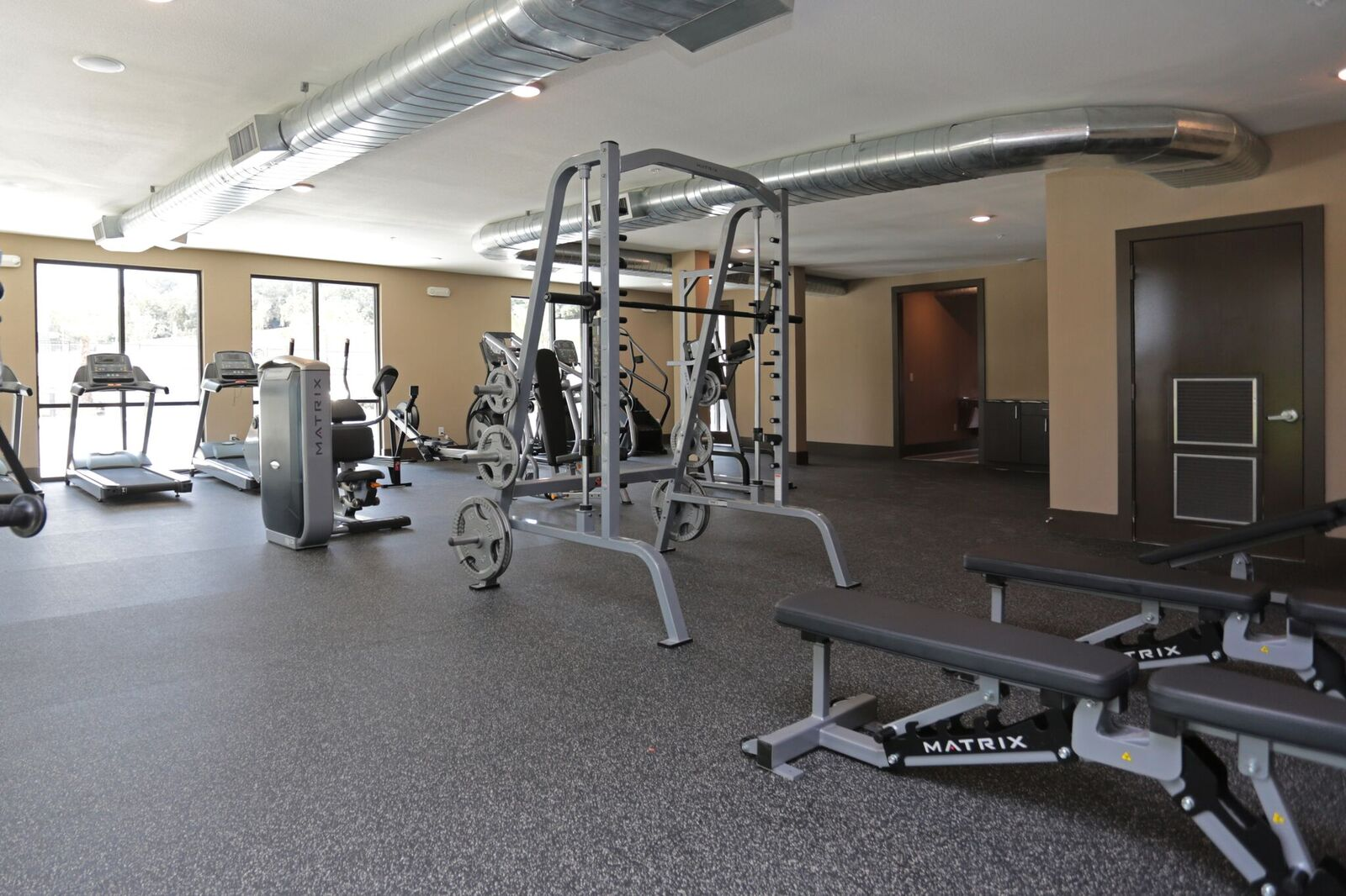 Fully-Equipped Gym at Oxford at Medical Center Apartments in San Antonio, Texas