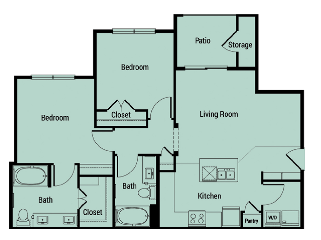 Floorplan - B1 Los Altos image