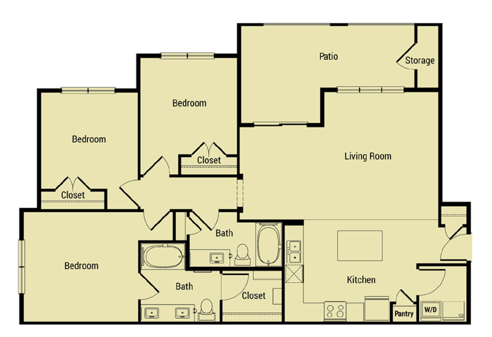 Oxford at Santa Clara - Floorplan - C1 Cupertino