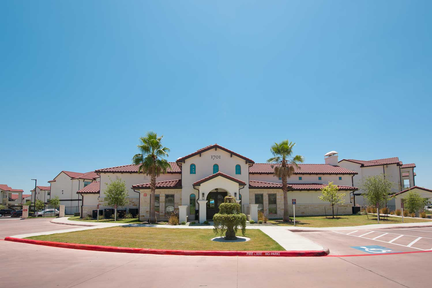Property View at Oxford at Santa Clara Apartments in Pflugerville, Texas