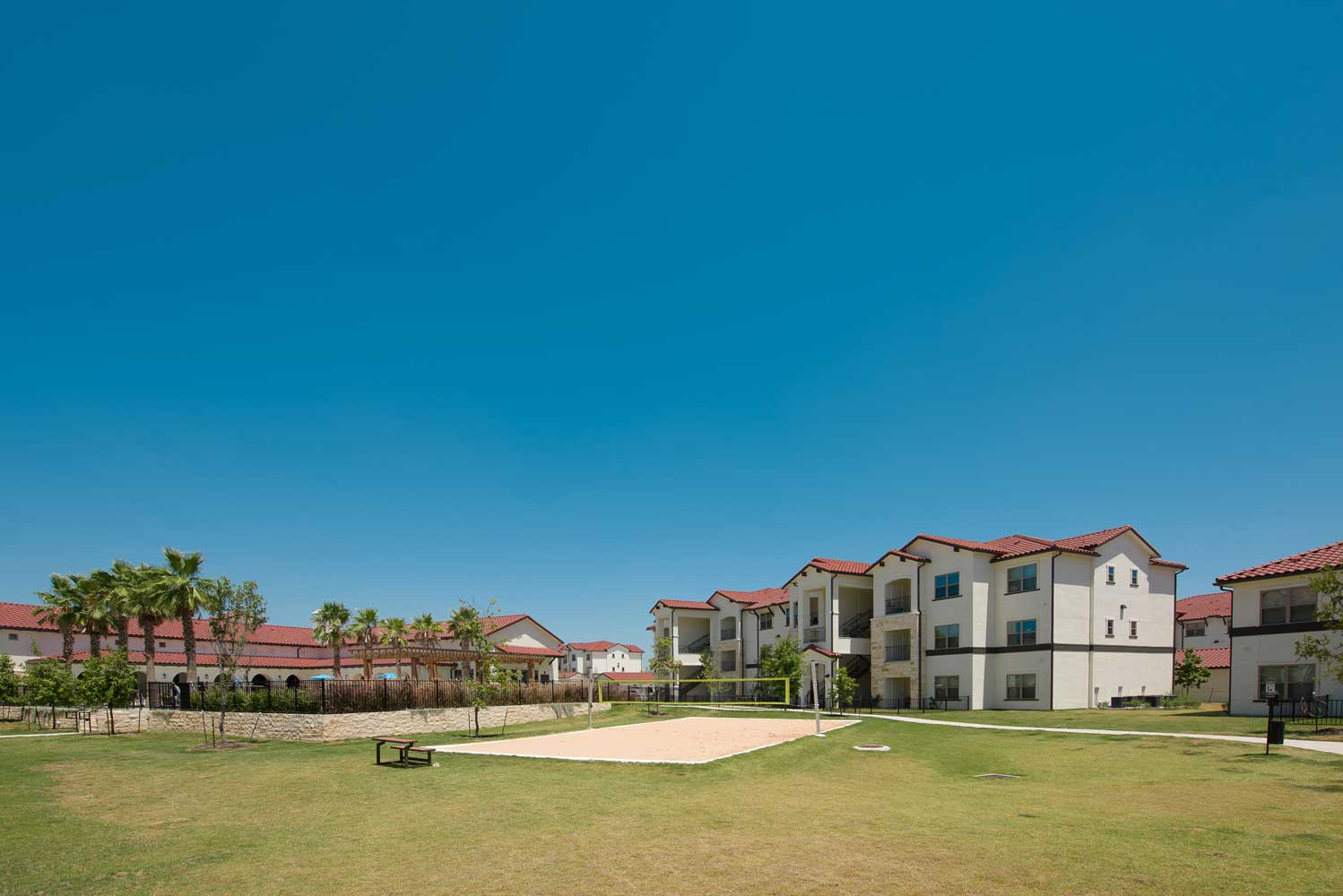 Open Area at Oxford at Santa Clara Apartments in Pflugerville, Texas