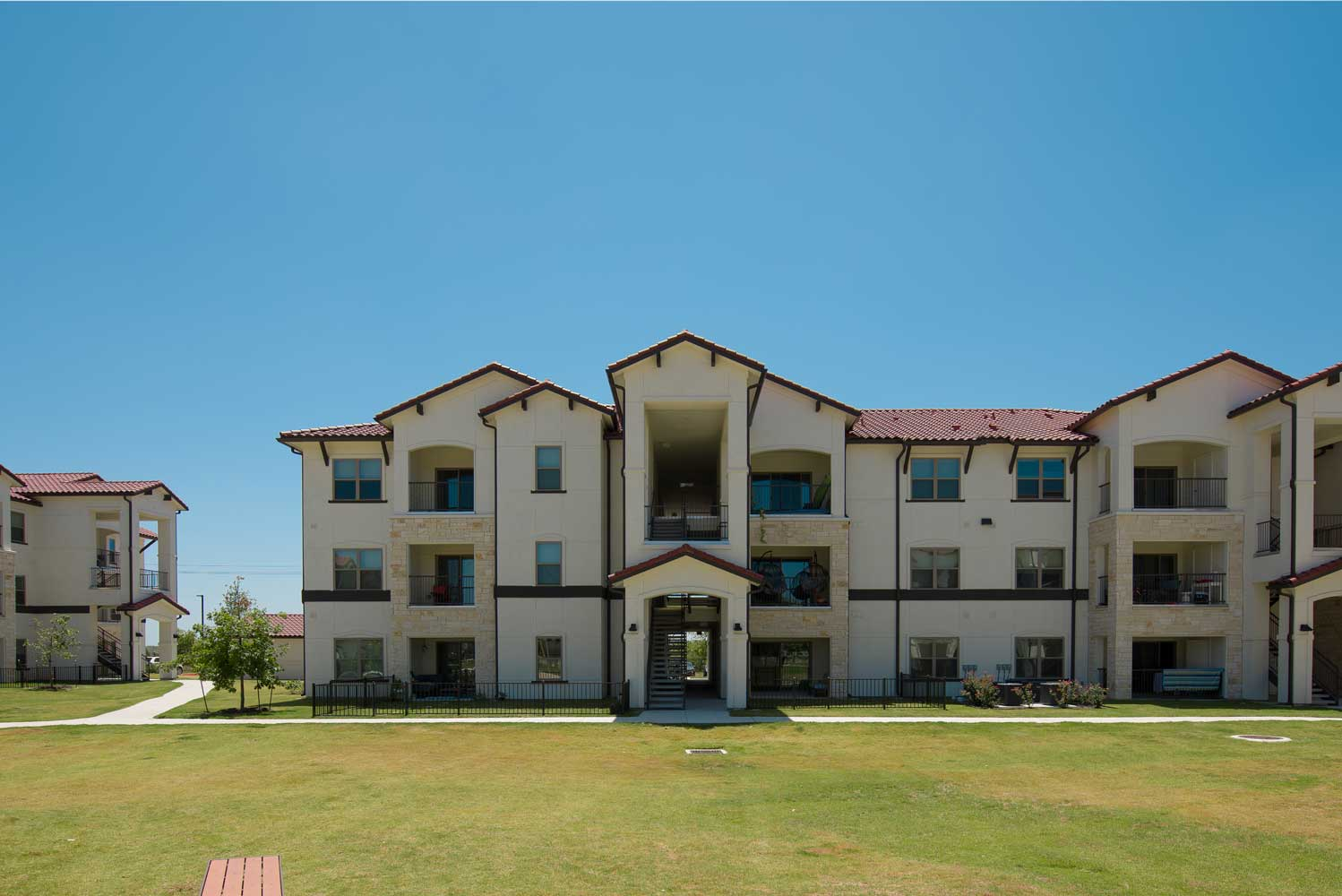 Two Bedroom Apartments at Oxford at Santa Clara Apartments in Pflugerville, Texas