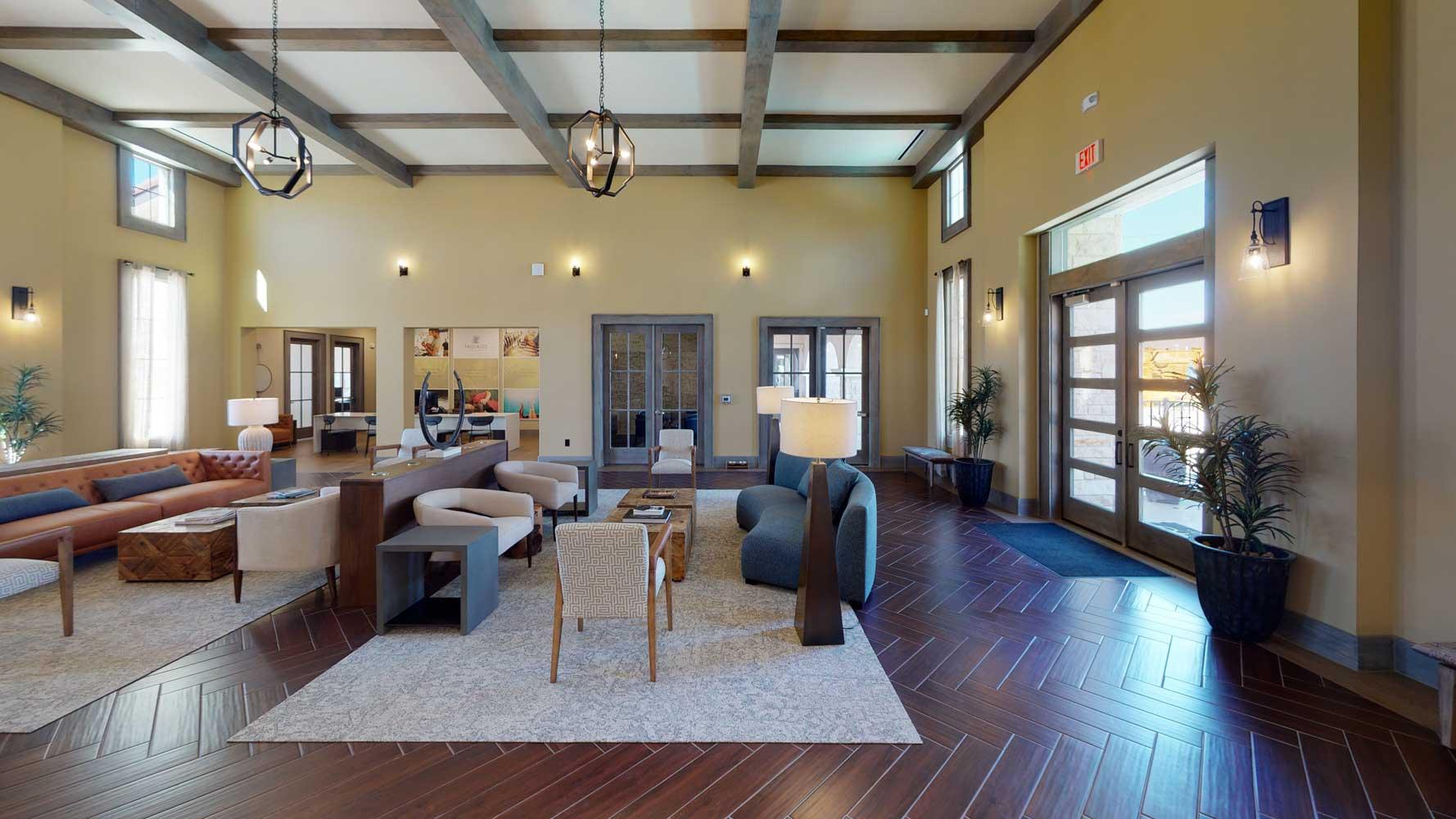 Property View at Oxford at Santa Clara Apartments in Pflugerville, Texas