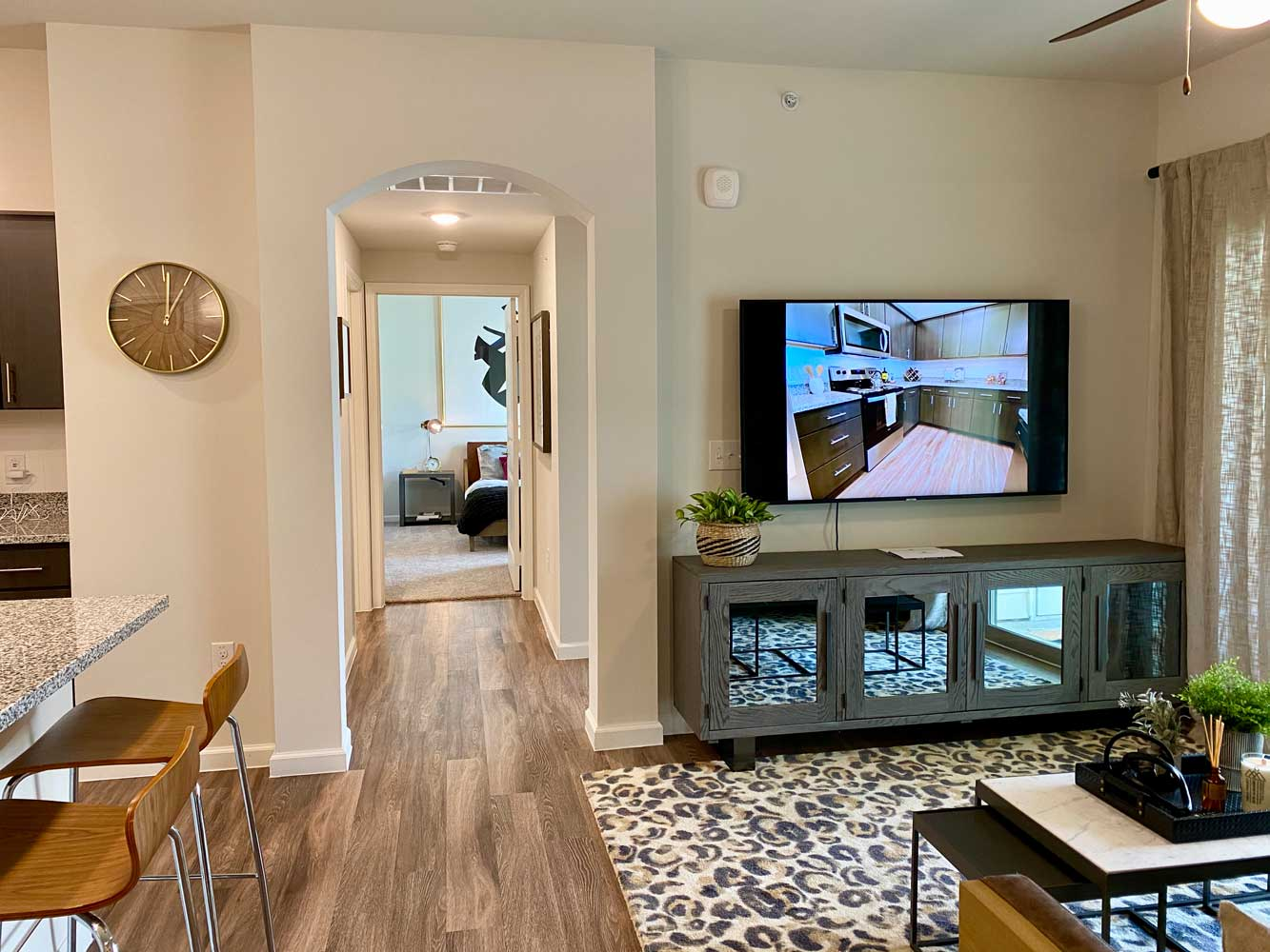 Family Friendly Apartments at Oxford at Santa Clara Apartments in Pflugerville, Texas