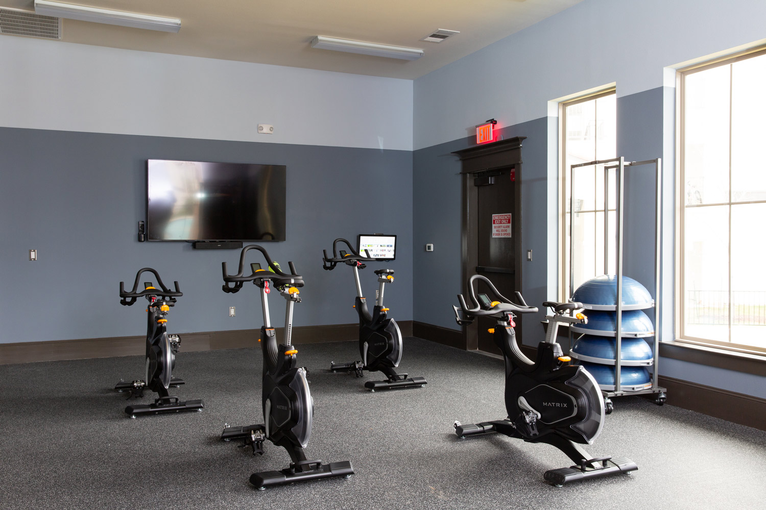 Cardio Equipment at Oxford at Santa Clara Apartments in Pflugerville, Texas