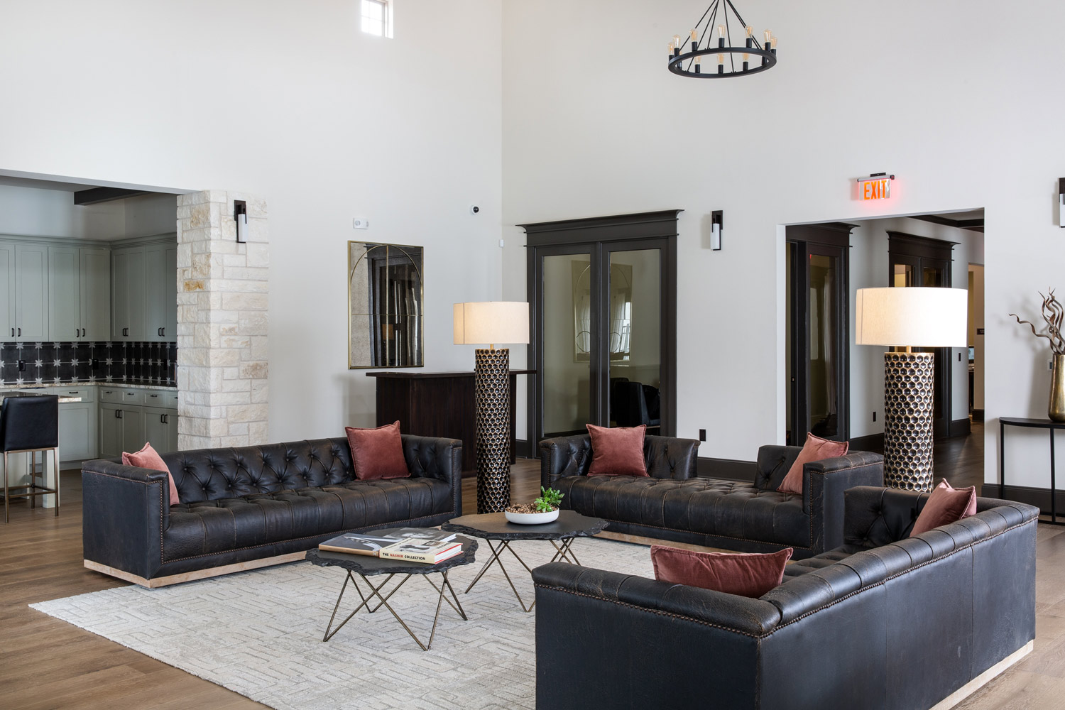 Open Floor Plans at Oxford at Santa Clara Apartments in Pflugerville, Texas