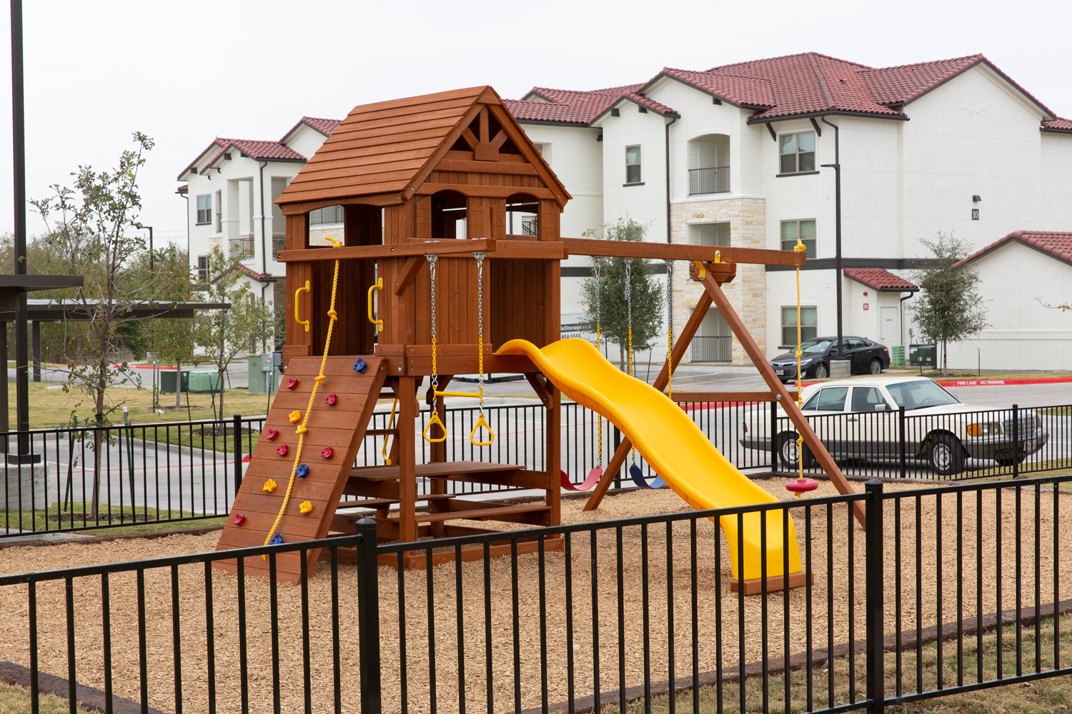 Playground at Oxford at Santa Clara Apartments in Pflugerville, Texas