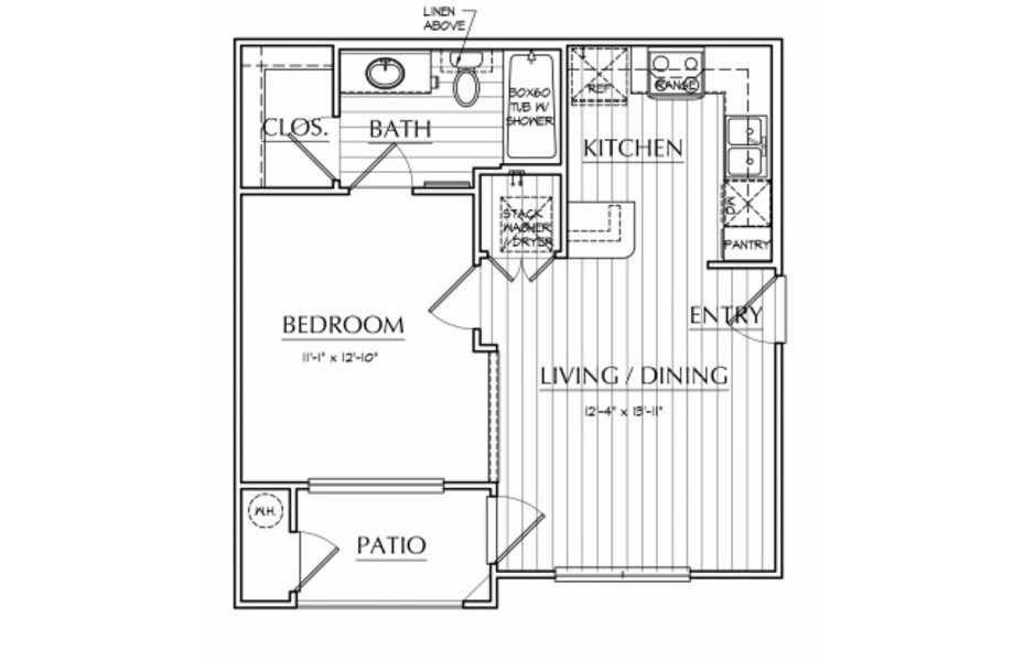 Oxford at The Ranch - Floorplan - Bowie