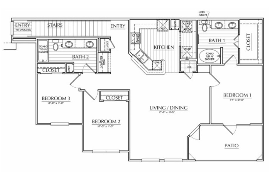 Oxford at The Ranch - Floorplan - Judge Waller