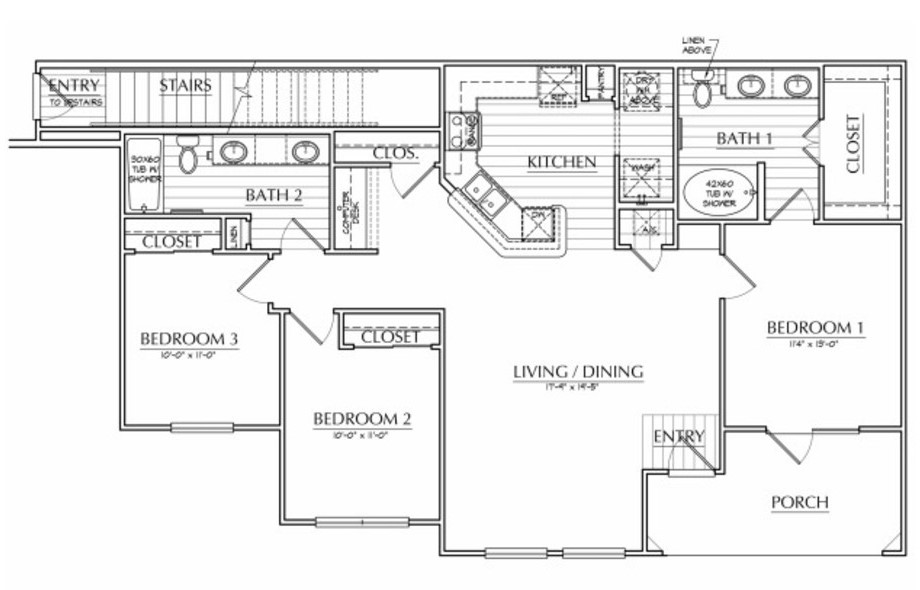Oxford at The Ranch - Floorplan - Sam Houston