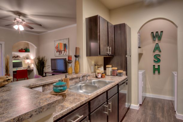 Washer and Dryer Included at Oxford athe Ranch Apartments in Waller, Texas