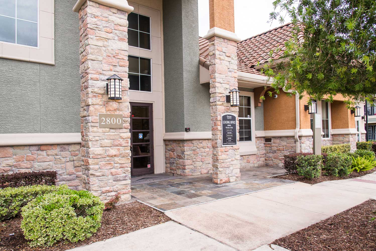 On Site Management at the Oxford at Country Club Apartments in Baytown, TX