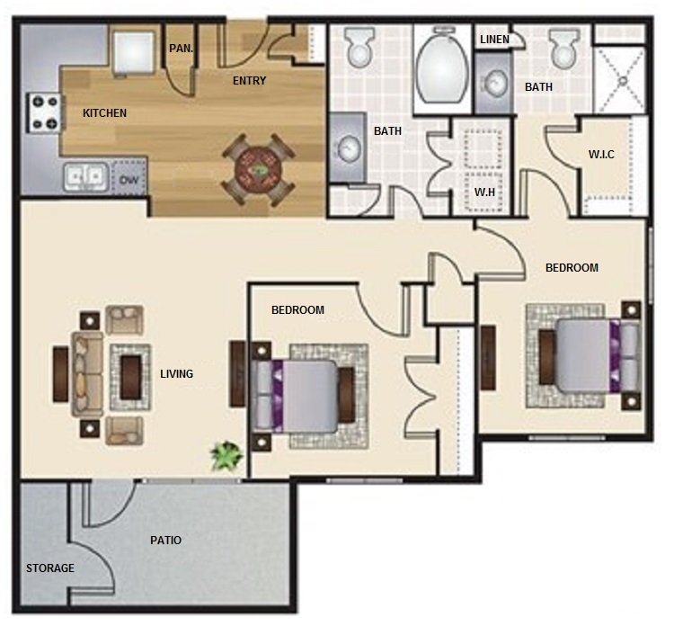 Floorplan - B1- The Exchange image