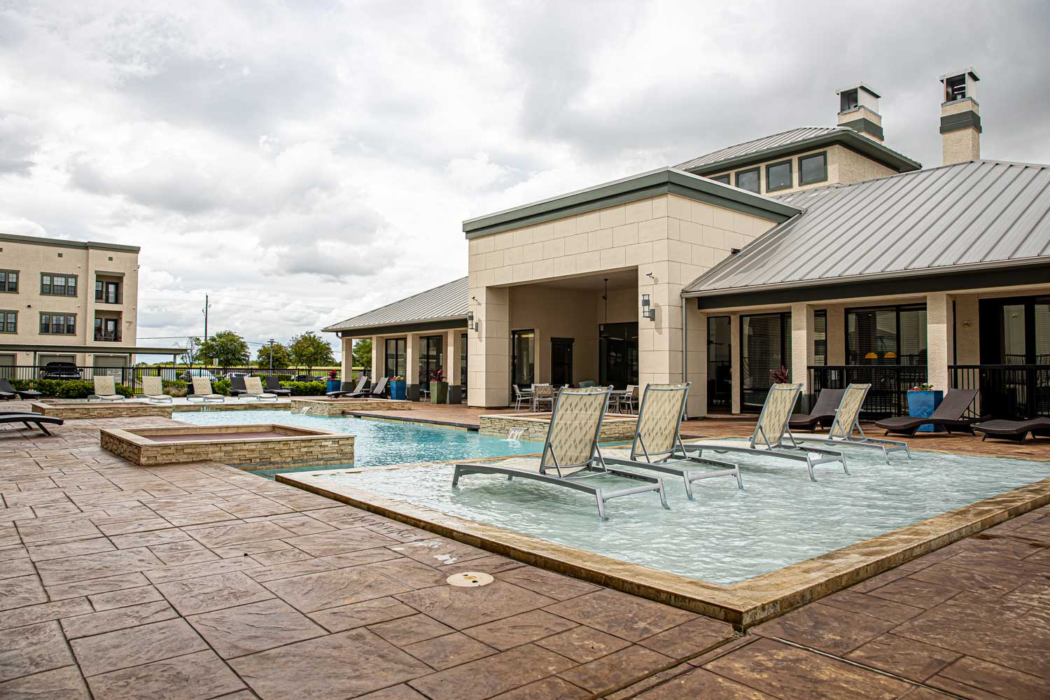 Large Pool at Oxford at Crossroads Centre Apartments in Waxahachie, TX