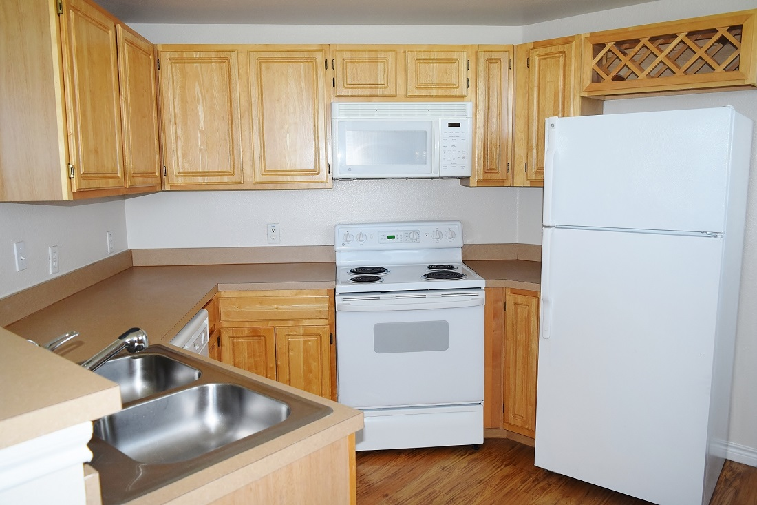 Well-Equipped Kitchen at The Oxford at Iron Horse Apartments in North Richland Hills, TX